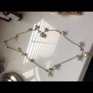 J. Crew Jewelry - J. Crew Long Pearl Necklace